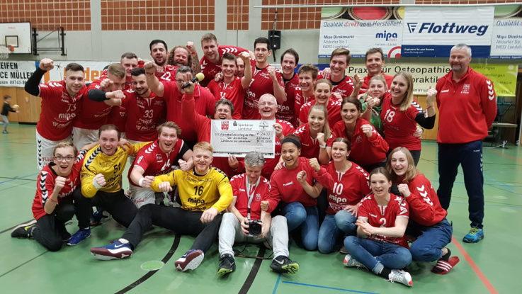 """""""Aktion 800"""": TGL-Handball-Teams spenden für OB-Direkthilfe"""