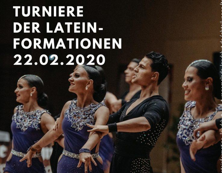 Einladung zum Formationsturnier am 22.02.2020
