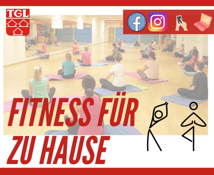 """TGL startet online durch: """"Fit und gesund"""" mit Pilates, Zumba, Piloxing, Yoga… – Macht mit! – Jetzt auch am Wochenende!"""