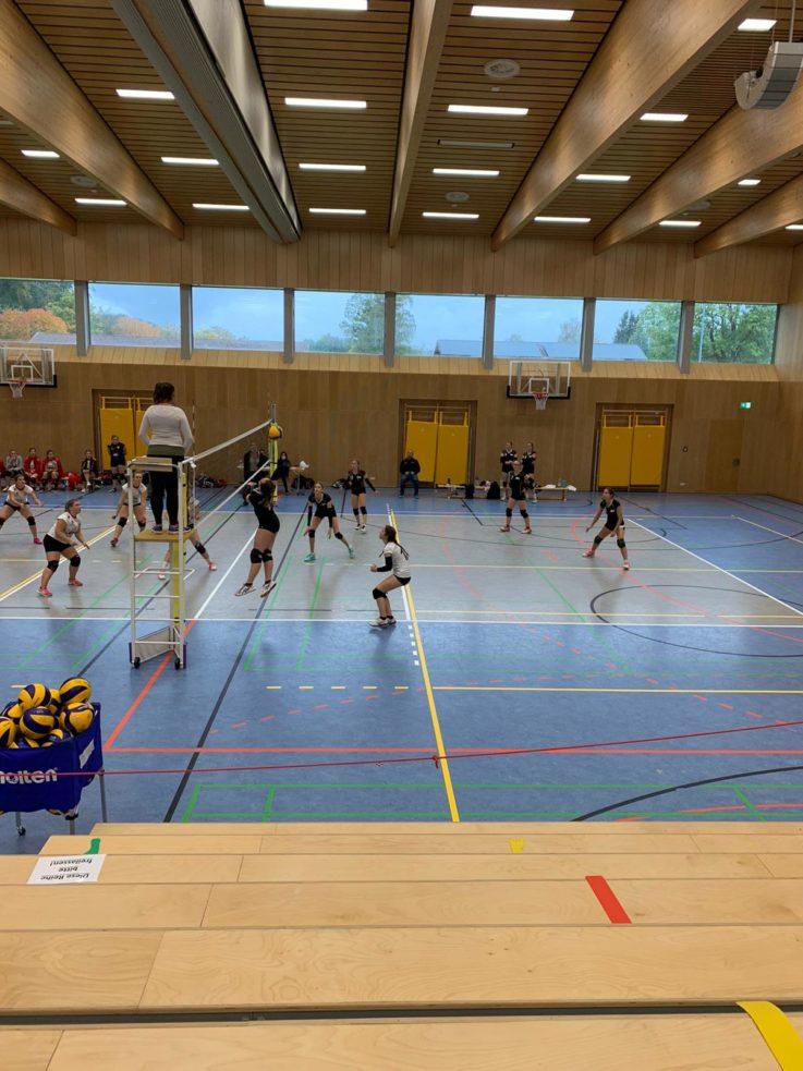 Volleyball: Zweite Damenmannschaft übernimmt die Tabellenführung