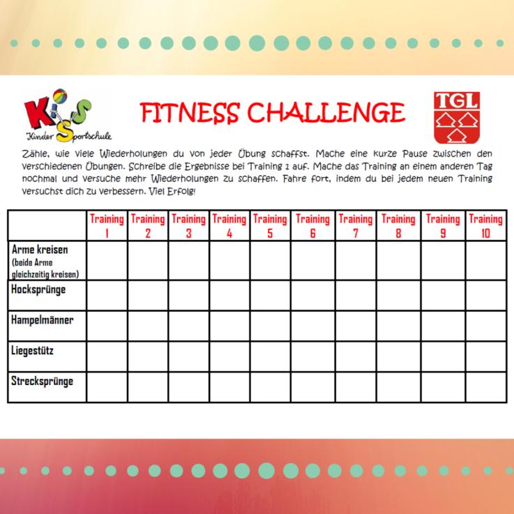 KISS: Fitness Challenge