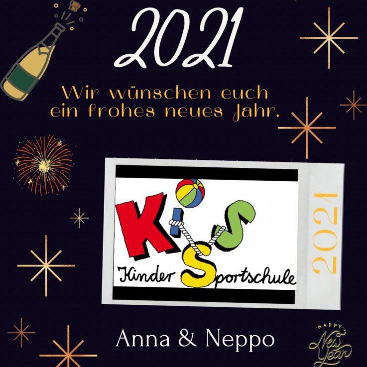 Kiss: Frohes neues Jahr