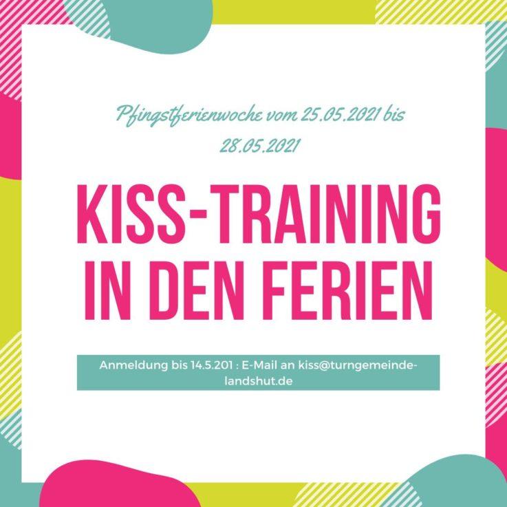 KISS: Training in den Pfingstferien