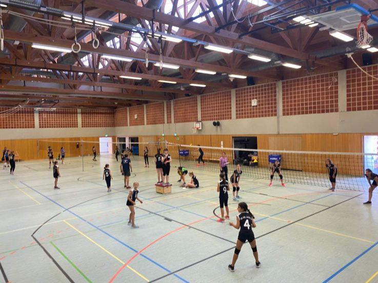 Volleyball: Jugend absolviert erfolgreiches Trainingscamp in der TG